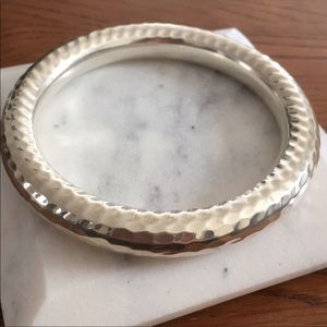 Silpada Sterling silver hammered bangle